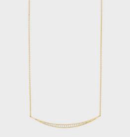 Gorjana Crescent Necklace