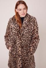 BB Dakota Meowie Wowie Leopard Faux Fur Coat