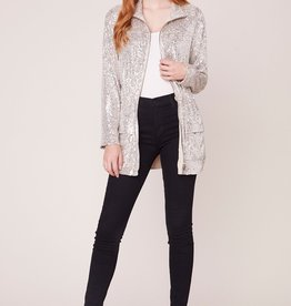 BB Dakota Sequin Premiere Sequin Jacket