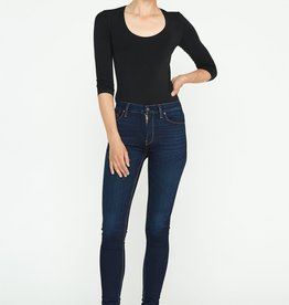 Hudson Barbara High-Rise Super Skinny Jean - Requiem