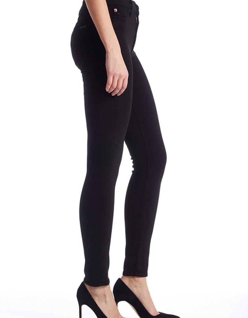 Hudson Barbara High-Rise Super Skinny Jean - Black