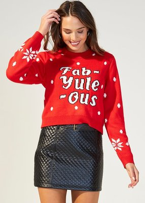 Minkpink Fabyuleous Knit Sweater