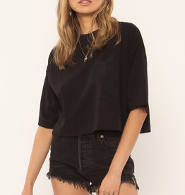 Amuse Society Easy Life Knit Top