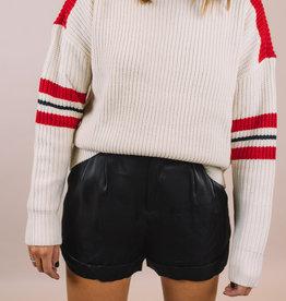Endless Rose Solid Satin Shorts
