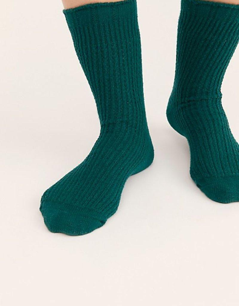 Free People Camilla Open Knit Slouchy Socks