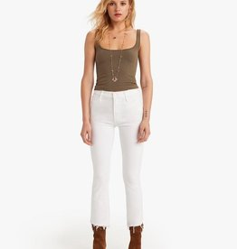 Mother Insider Step Crop Fray- Fairest of Them All