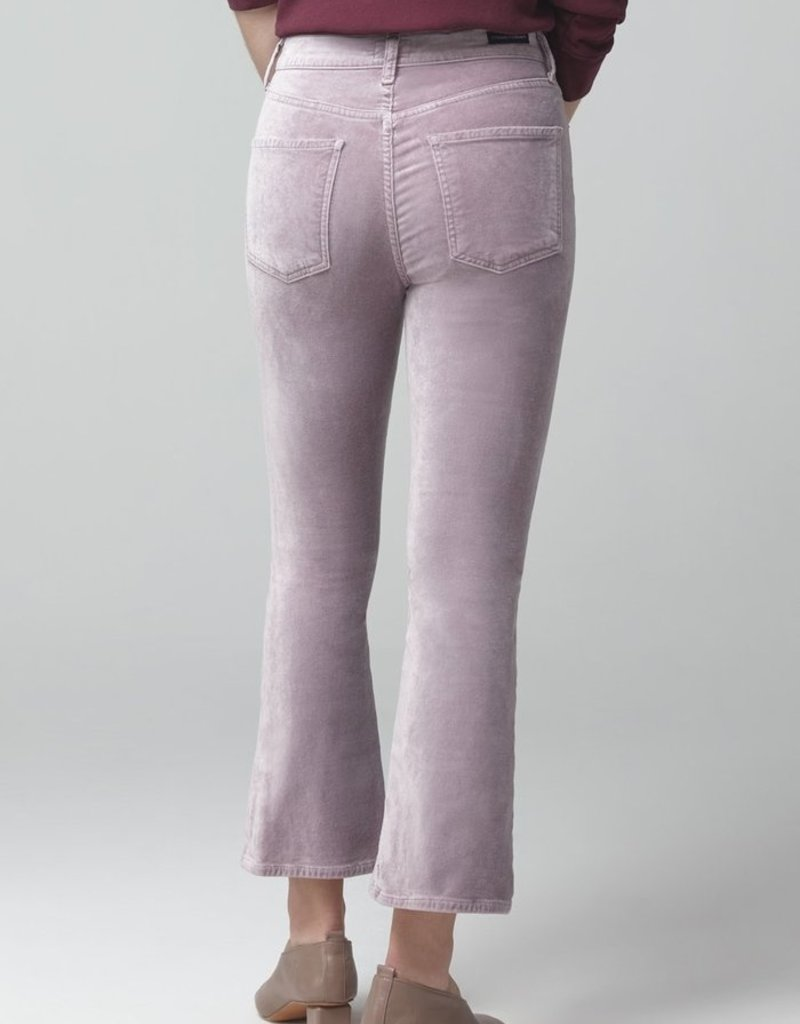 Citizens of Humanity Demy Cropped Flare Velour - Amethyst
