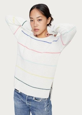 Michael Stars Paige Striped Pullover Sweater