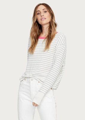 Michael Stars Chloe Striped Pullover