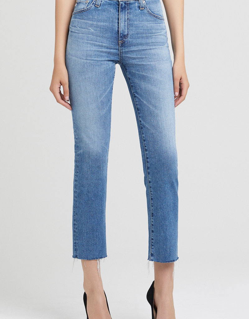 AG Jeans Isabelle Straight High Rise - 20 Years Duplicity