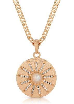 Joy Dravecky Stargazer Necklace - Moonstone