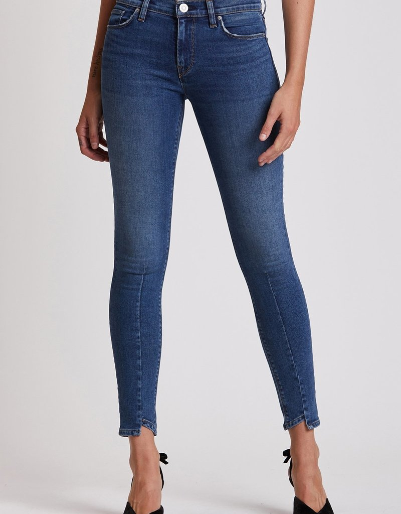 Hudson Nico Mid-Rise Super Skinny with Step Hem