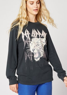Daydreamer Def Leppard Long Sleeve Oversized Tee