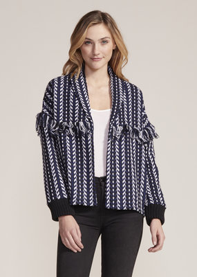 Cupcakes & Cashmere Kirsty Tweed Bomber