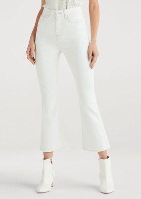 7 For All Mankind High Waist Slim Kick - Sunset Boulevard