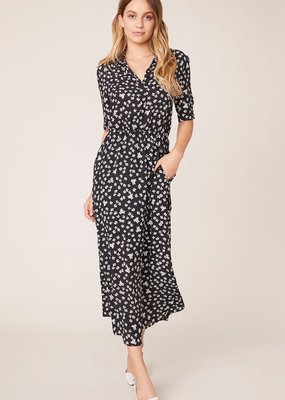 BB Dakota Floral Education Midi Dress