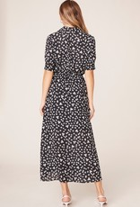 BB Dakota Floral Education Midi Dress