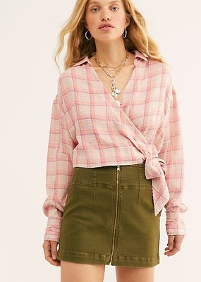 Free People Virgo Mini Skirt