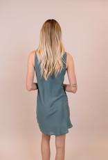 Lavender Brown Stormy Mini Dress