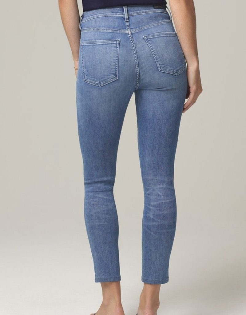 Citizens of Humanity Rocket Crop Mid Rise Skinny - Pirouette