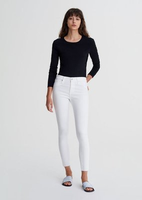 AG Jeans The Farrah Skinny Ankle - White