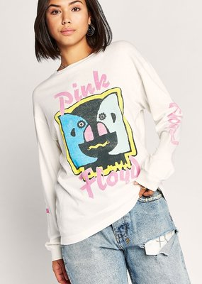 Daydreamer Pink Floyd Division Bell Oversized Long Sleeve