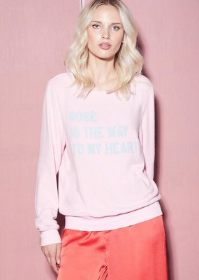 Wildfox Rosé is the Way Baggy Beach Jumper