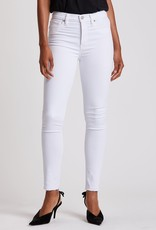 Hudson Barbara High-Rise Skinny Ankle Jean - White