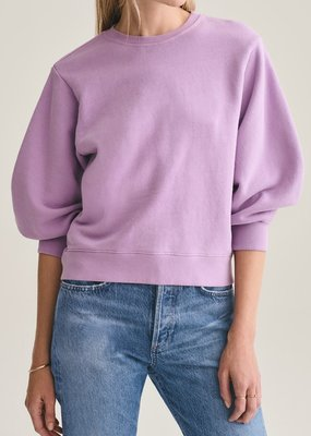 AGOLDE Thora 3/4 Sleeve Sweatshirt