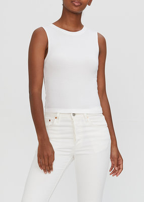 Michael Stars Cropped Crew Neck Tank