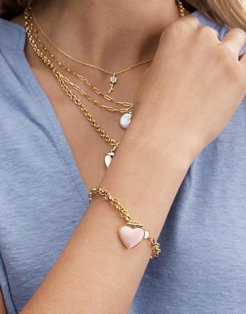 Gorjana Kara Heart Bracelet
