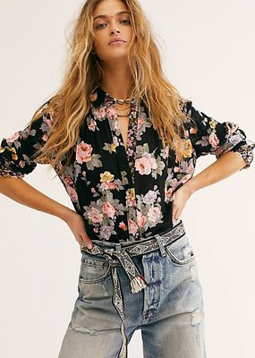 Free People Hold On To Me Printed Top