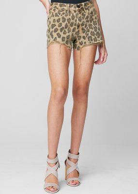 Blank NYC Barrow Shorts - Leopard