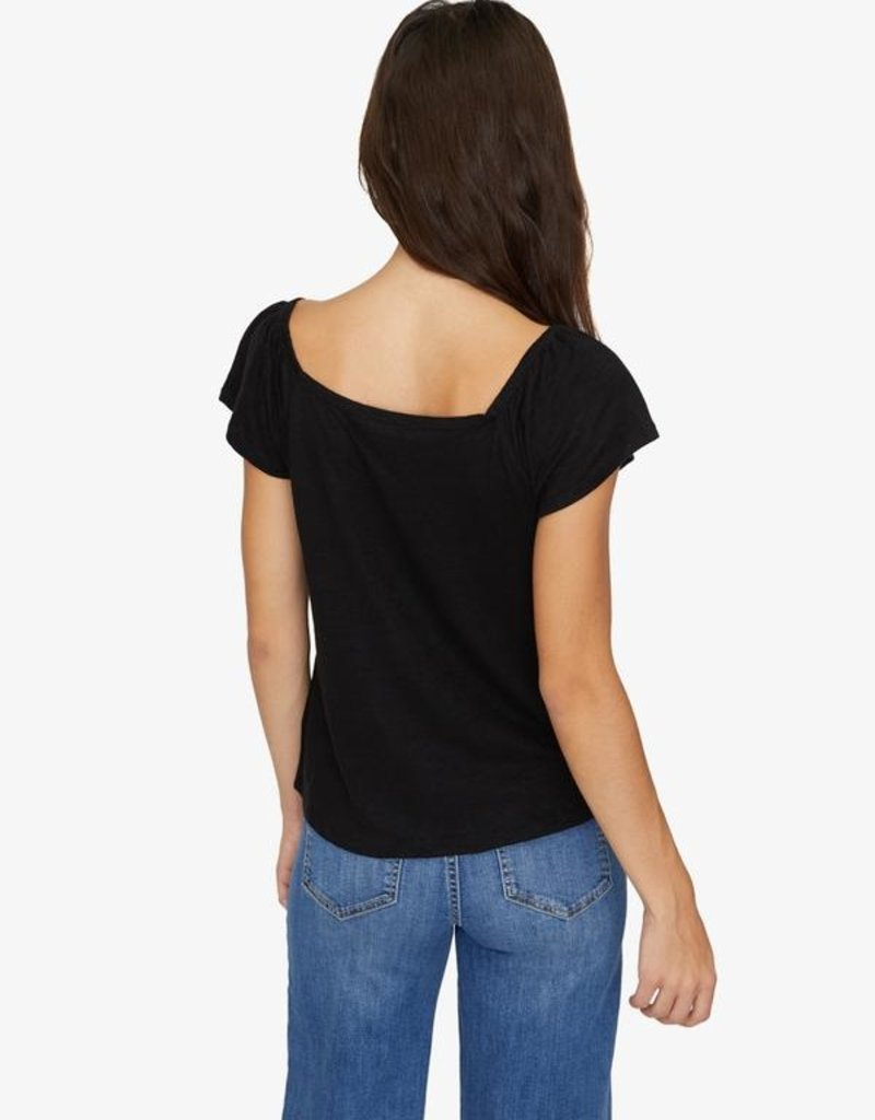 Sanctuary Ali Square Neck Tee