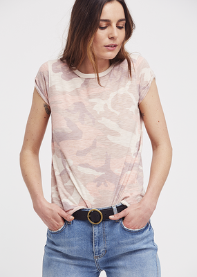 Free People Printed Clare Tee