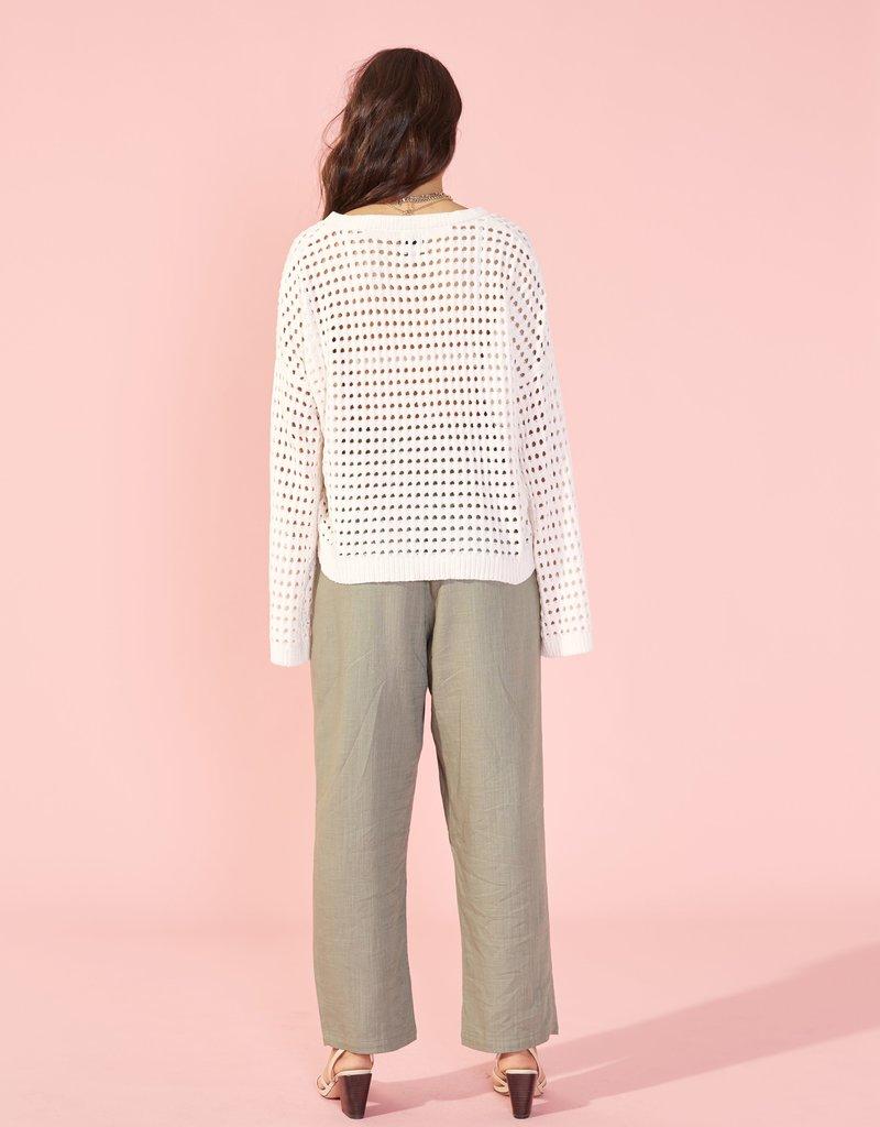 Minkpink Chenille Knit Sweater