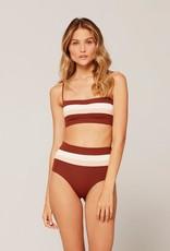 L*SPACE Portia Stripe Bikini Bottom