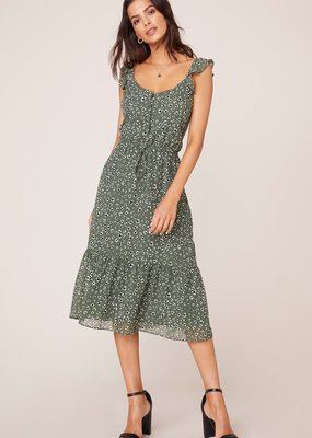 Jack by BB Dakota First Instinct Leopard Midi Dress