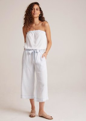 Bella Dahl Strapless Crop Jumper - White Out