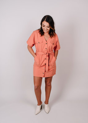 Minkpink Safari Dress