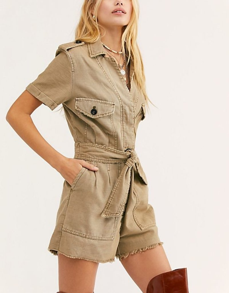 Free People Off The Beaten Path Romper