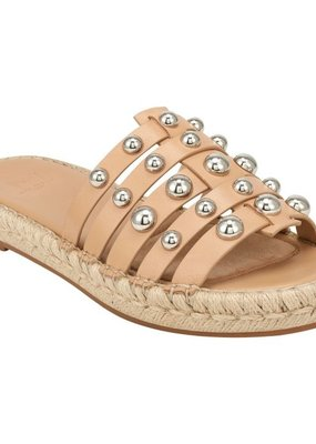 Marc Fisher Tamie Studded Espadrille Slide