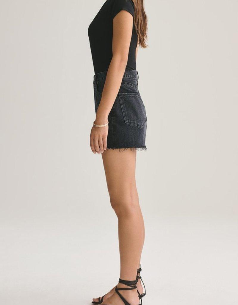 AGOLDE Quinn High Rise Mini Skirt