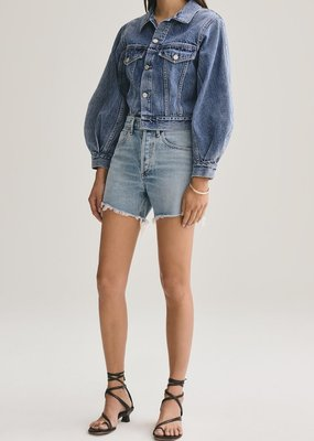 AGOLDE Reese Relaxed Cut Off Short  - Wonder