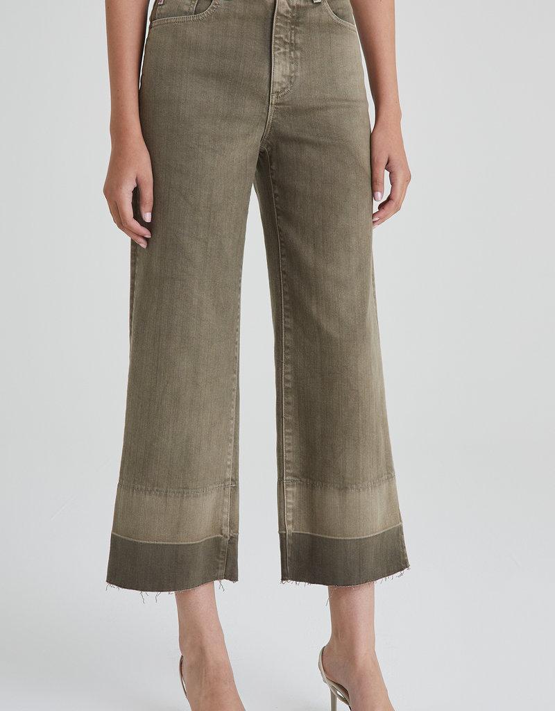 AG Jeans Etta Wide Leg Crop - Sulfur