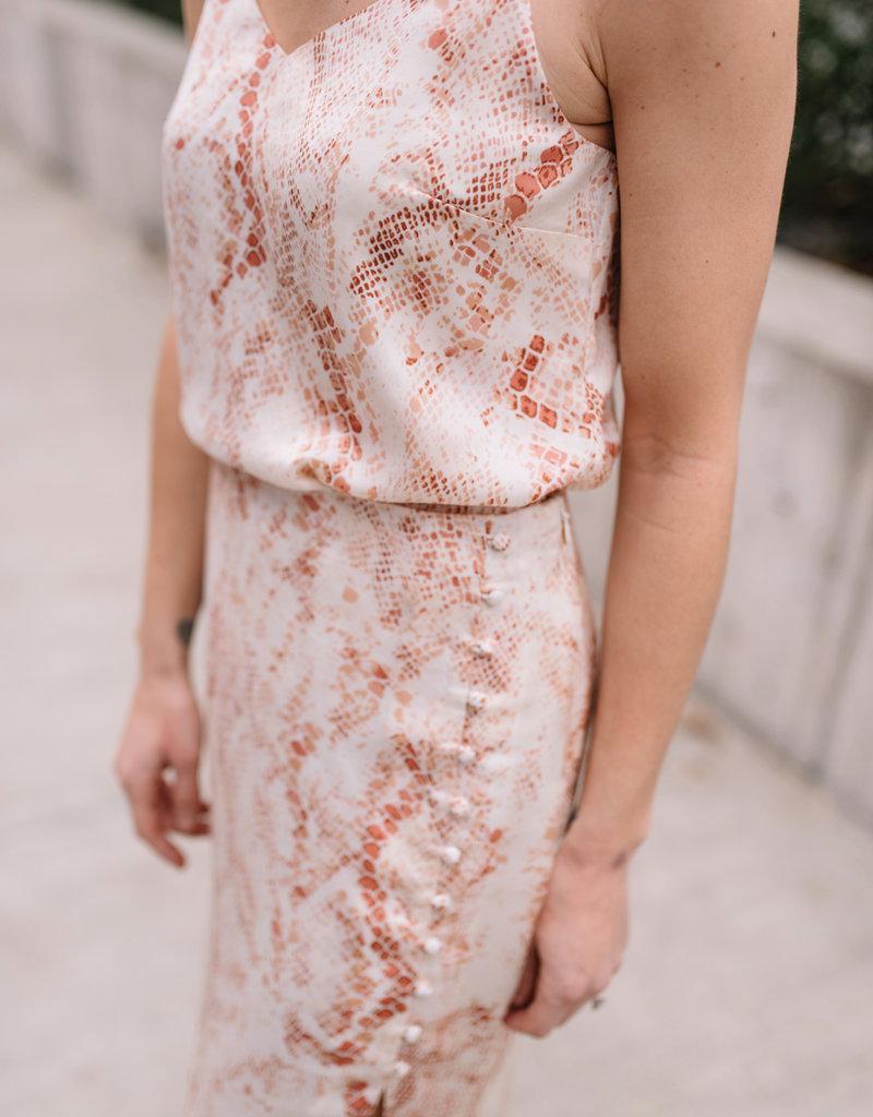 Cupcakes & Cashmere Fairfax Midi Skirt