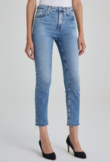 AG Jeans Isabelle Ultra High Rise Straight Crop