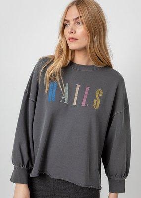 Rails Custom Embroidered Signature Sweatshirt