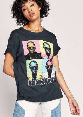 Daydreamer Elton John Pop Color Boyfriend Tee