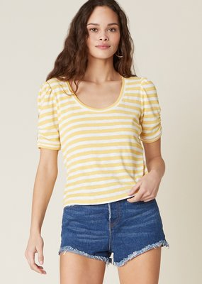 BB Dakota Plot Twist Striped Top
